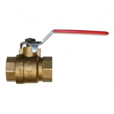 Maestrini DZR Brass Full Bore Ball Valve S/S Handle